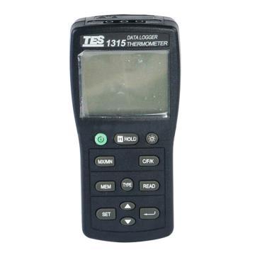 温度计,泰仕 K.J.E.T.R.S.N.温度记录表,TES-1315