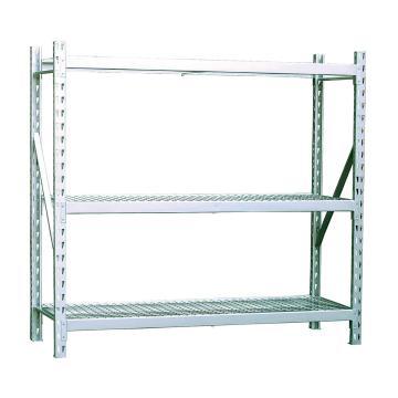 STORAGEMAID 中型货架,副架,尺寸(长*宽*高):1855*610*1830mm,3层,重型钢丝网片层板,500kg/层 ,安装费另询