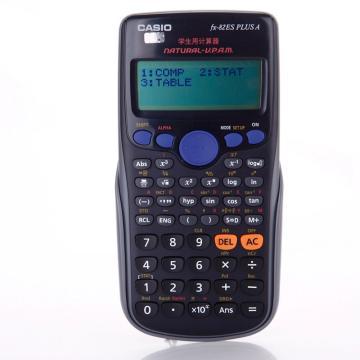 卡西欧 计算器,FX-82ES PLUS13.8*80*162mm 单位:台