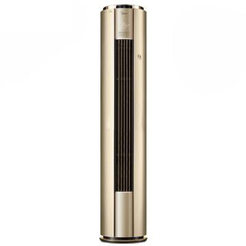 美的 3匹圆柱冷暖变频空调柜机,智能王,KFR-72LW/BP3DN1Y-YB200(B1),区域限售