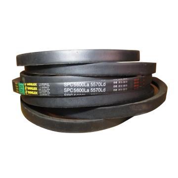 三力士SANLUX 窄形包布V带,SPC3150