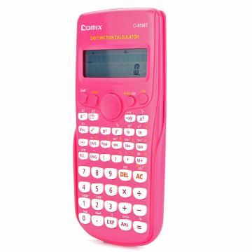 齊心 計算器,C-85MS 理科通函數型 紅 單位:臺(售完為止)