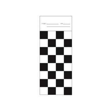 遮盖力测定卡纸,黑白格纸,PS 2930/4