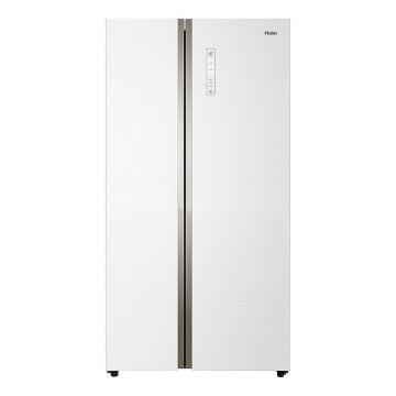 海尔对开门冰箱,海尔,BCD-518WDGH,现代简约【白色】