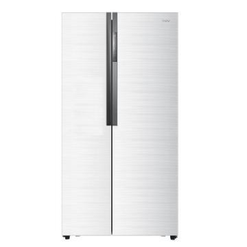 海尔对开门冰箱,海尔,BCD-521WDPW,白色时空穿梭
