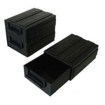 三威 防静电元件盒,126*87*40mm,抽屉式,黑色