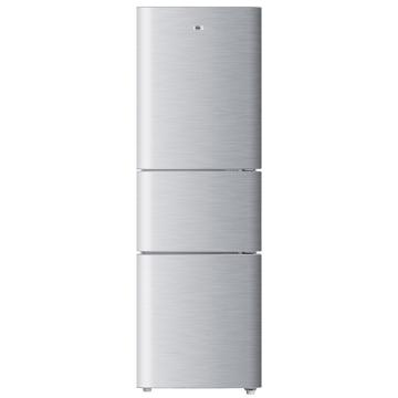 海尔直冷三门冰箱,海尔,BCD-206STPQ,拉丝219【银】