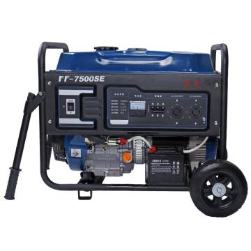 东成 汽油发电机,FF-7500DSE(FF-7500SE升级型号,220V和380V通用)