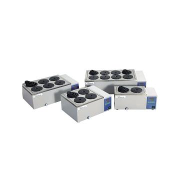 一恒电热恒温水浴锅,HWS-28,双列八孔,温控范围:RT+5-99℃,容积:19.8L