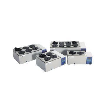 电热恒温水浴锅,一恒,双列四孔,控温范围:RT+5-99℃,容积:9.9L