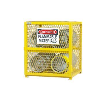 水平气罐存储柜,宽深高:762*762*889,可装4个气罐