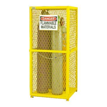 垂直气罐存储柜,宽深高:762*762*1822,可装9个气罐