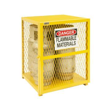 垂直气罐存储柜,宽深高:762*762*851,可装4个气罐