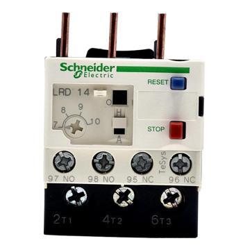 施耐德 热过载继电器,LRD14C