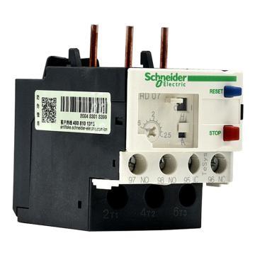 施耐德 热过载继电器,LRD07C
