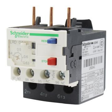 施耐德 热过载继电器,LRD04C