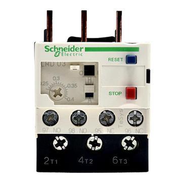 施耐德 热过载继电器,LRD03C