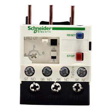 施耐德 热过载继电器,LRD01C