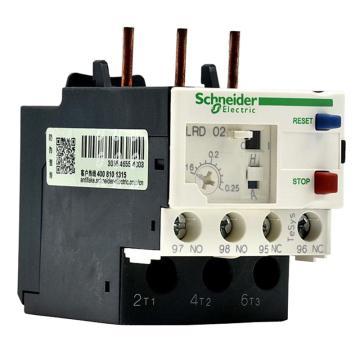 施耐德 热过载继电器,LRD02C