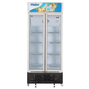 海尔 450L全无氟双门商用冷藏柜,SC-450G ,白色