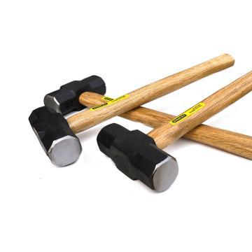史丹利 木柄八角石工锤12lbs,56-612-23C