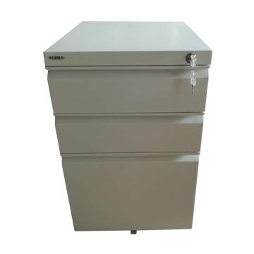 EU-703N活动柜,395长*500宽*635高,乳白色,0.7mm厚度