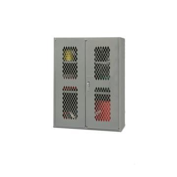 DURHAM MFG 宽重型可内视存储柜(2个搁板),宽深高(mm):914*457*1219,承重:408kg