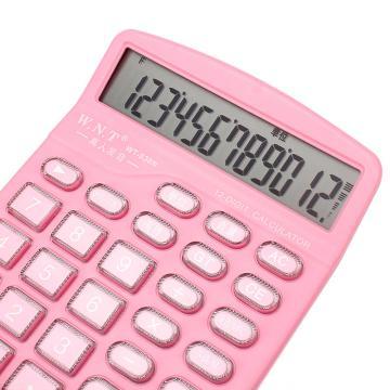 万能通 计算器, 粉色 WT-828N 单位:台