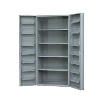 DURHAM MFG 存储柜,宽*深*高(mm):1219*610*1829,含4个托架、14个门托架,不含物料箱,托架承重(KG):318