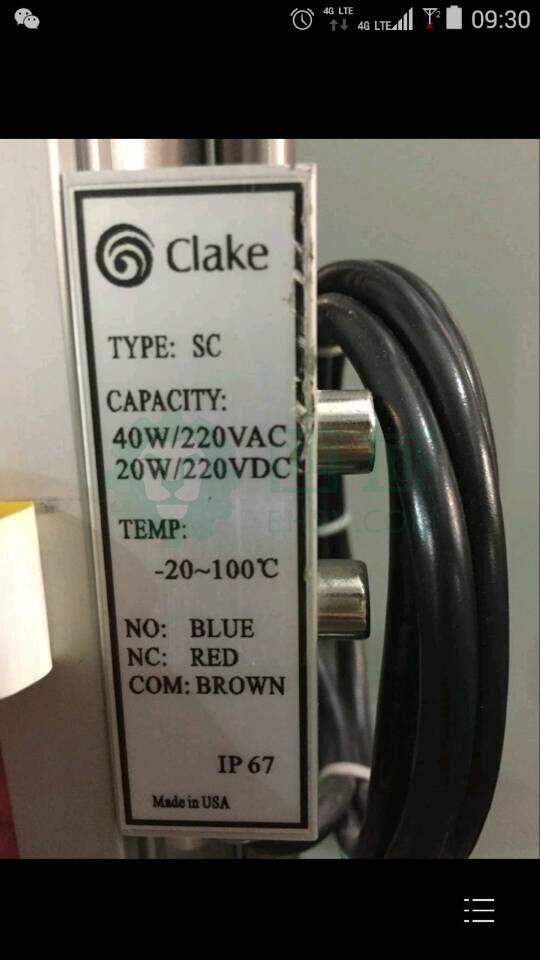 Clake SC磁记忆开关