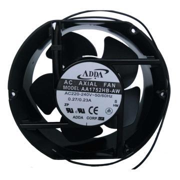 ADDA 散热风扇 AA1752HB-AW ,AC220V,172×150×51mm