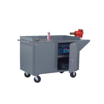 DURHAM MFG 移动式存储式工作台,宽深高:1524*610*1010,载重(kg):907