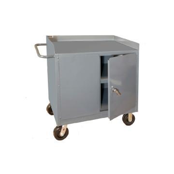 DURHAM MFG 移动式存储工作台,宽深高:914*610*1029,载重(kg):907