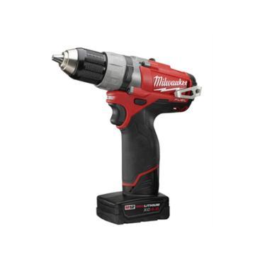 美沃奇(原品牌名:米沃奇)锂电池充电电钻,13mm夹持 12V,产品型号升级为M12FDD-202C