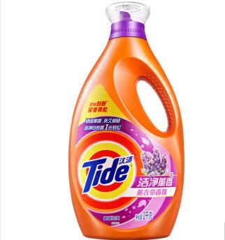 汰渍洗衣液,洁净熏香 薰衣草香氛 2KG/瓶 单位:瓶