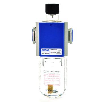 """亚德客AirTAC 油雾器,GL200-08,PT1/4"""",带压力表"""