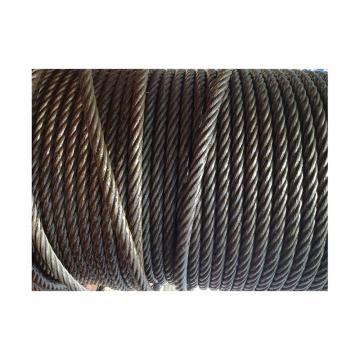 西域推荐 油性钢丝绳,规格:Φ11mm,6*37+FC