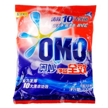 奥妙(OMO)洗衣粉 300克/包,22包/箱 单位:包