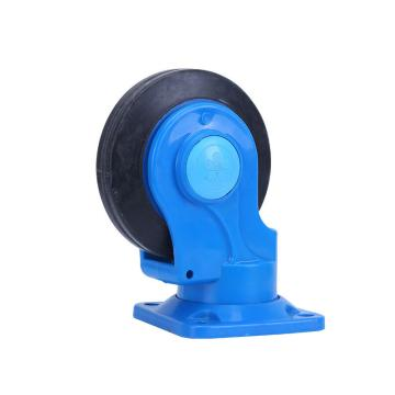 """万向轮,4""""(全静音) 日本静音塑料手推车用,150kg"""