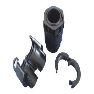沁澜牌 双拼波纹管接头 M16-AD14 适用波纹管型号:PPAD14