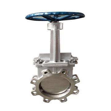 不锈钢304浆液阀 Z73X-10P,DN200