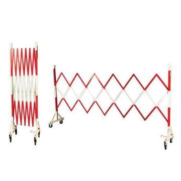 红白伸缩护栏,带转角,1.2*4米