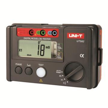 优利德/UNI-T UT582漏电保护开关测试仪