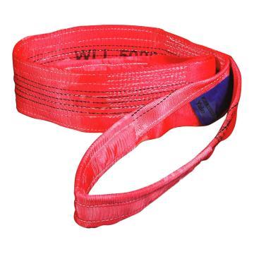 耶鲁扁吊带,红色, 5T 12m