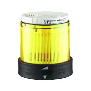 施耐德电气,带LED信号灯模块,常亮,24V,XVBC2B8