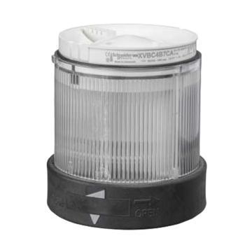 施耐德电气,带LED信号灯模块,常亮,24V,XVBC2B7