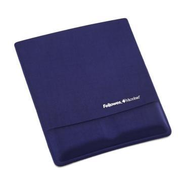 范羅士Fellowes 尊貴絲質鼠標墊, 寶石藍 CRC91839 單位:塊