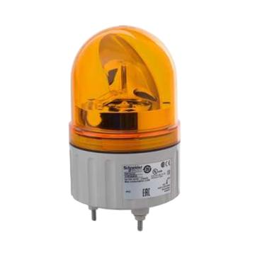 施耐德 旋转声光报警器,不带蜂鸣器,Φ84mm,XVR08B05