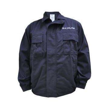 雷克兰 12.4cal系列防电弧夹克,Nomex线缝纫,下摆松紧式收腰,深蓝,尺码:S