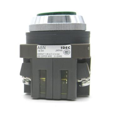 和泉 绿色平头按钮φ30,ABN110G
